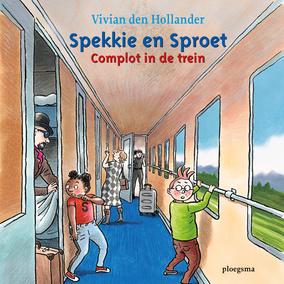 Spekkie en Sproet; Complot in de trein